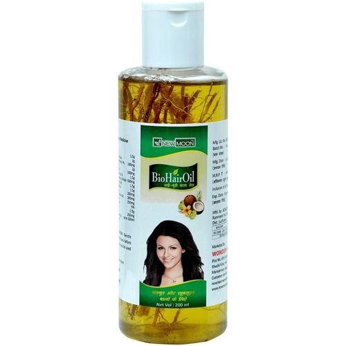 New Moon Jadi Buti Hair Fall Control Ayurvedic Mineral Oil Free Kapoor Hair Oil(200 ml)