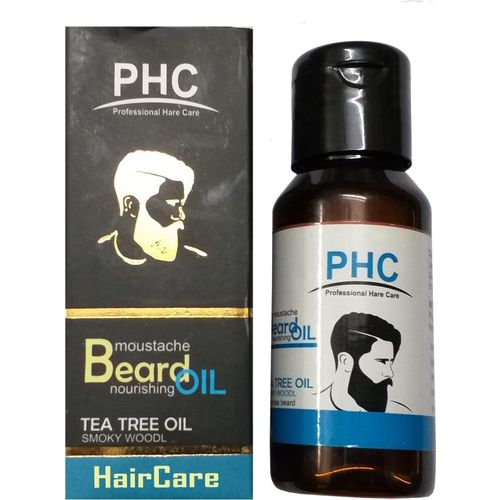 HairCare teA TREE herbal beard and moustache Hair Oil(59.7 ml)