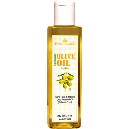 Park Daniel Extra Light Olive Oil-100 % Pure and Natural(200 ml) Hair Oil(200 ml)