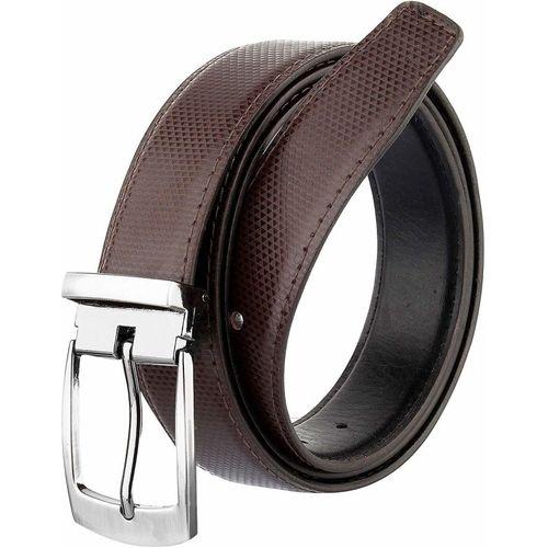 COOVS Men Formal, Casual Brown Artificial Leather Reversible Belt