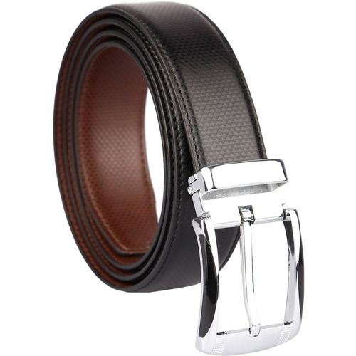 COOVS Men Formal, Casual Black Artificial Leather Reversible Belt