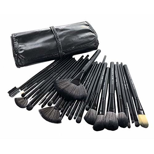 Puna Store 30 Piece Makeup brush Set (Black)