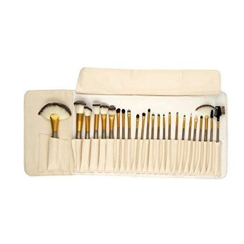 Foolzy Brush Book ! Makeup Brush Collection (24 Pcs Premium Off White)