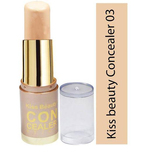 Kiss Beauty Concealer & Highlighter Stick 51008-03 Concealer(Soft Ivory) Concealer(Soft Ivory)