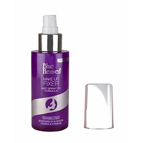 Blue Heaven Mist Spray Formula Makeup Fixer, White, 115ml