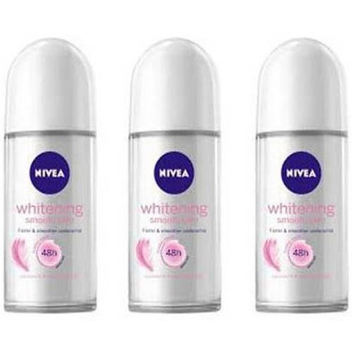 Nivea Whitening Smooth Skin Deodorant Roll-on - For Women(150 ml)