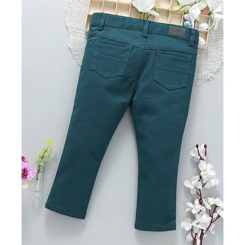 ToffyHouse Full Length Trouser With Pockets - Teal Blue