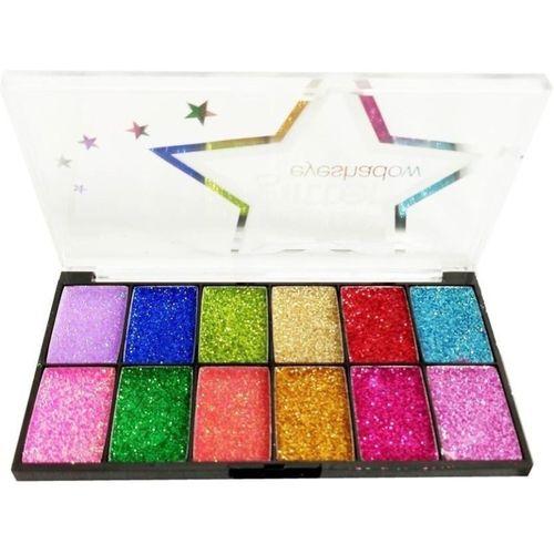 ADJD NEW CLASSY Midnight Sparkle Glitter Eyeshadow Palette 21.88 g(MULTI)