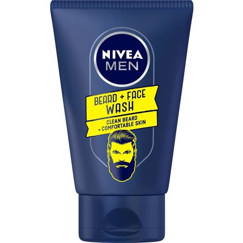Nivea Men Beard Skin Wash Face Wash(100 ml)