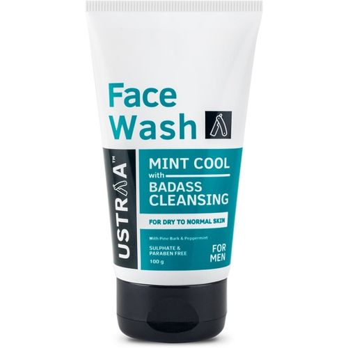 Ustraa Dry Skin (Mint Cool) Face Wash(100 g)