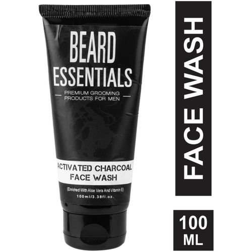 Beard Essentials Activated Charcoal Face Wash(100 ml)