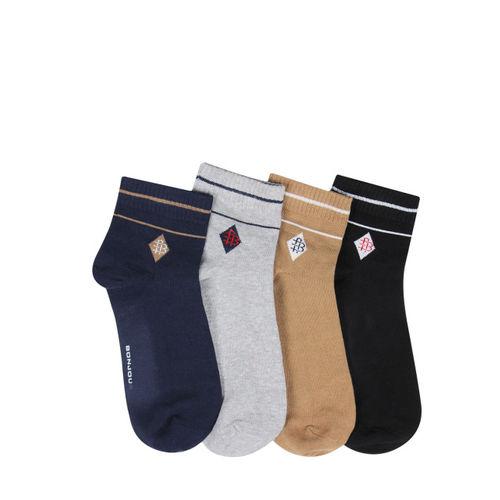 Bonjour Men Set of 4 Assorted Socks