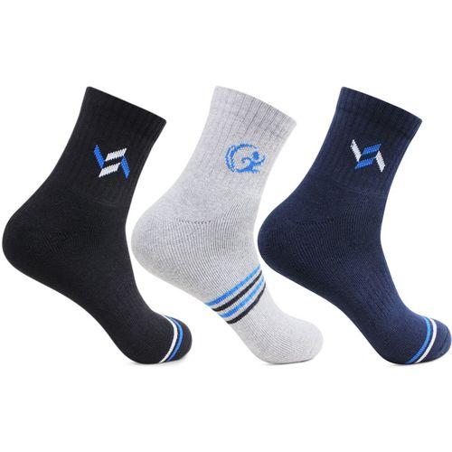 Bonjour Men's Ankle Length(Pack of 3)