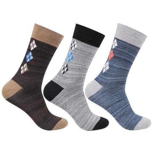 Men's Full Length Designer Muticolor Socks
