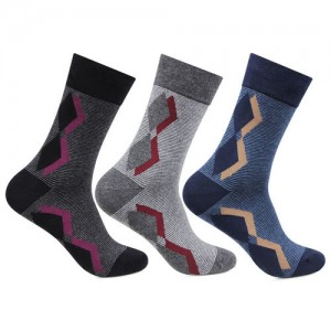 90843fe601963 Bonjour Men's Multicolor Cotton Calf Length Socks Pack ...