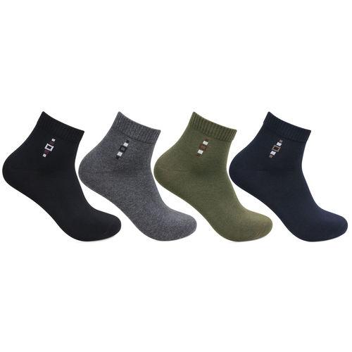 Bonjour Men's Topaz Premium Ankle Multipack Socks