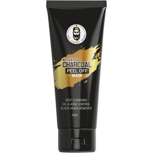 THE GOLDEN BEARD Activated Charcoal Peel Off Mask(60 g)
