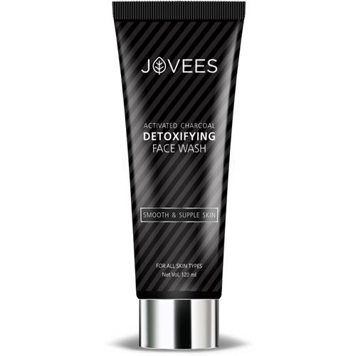 Jovees Activated Charcoal Detoxifying Face wash, Face Wash(120 ml)