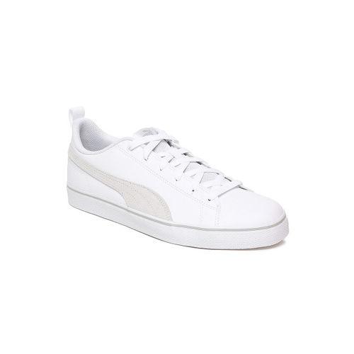 Buy Puma Court Point SL v3 Sneakers For Men(White) online