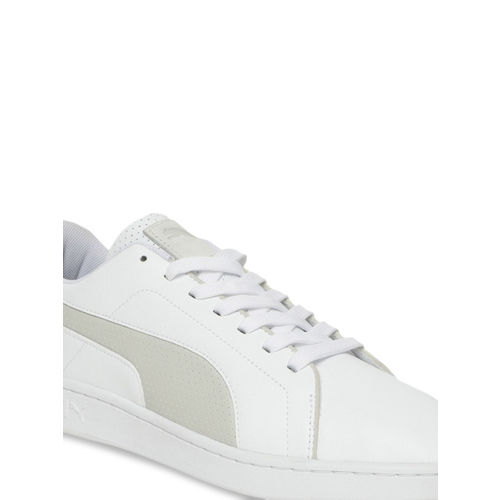 Puma Unisex White BMW MMS Smash V2 Sneakers 30645002
