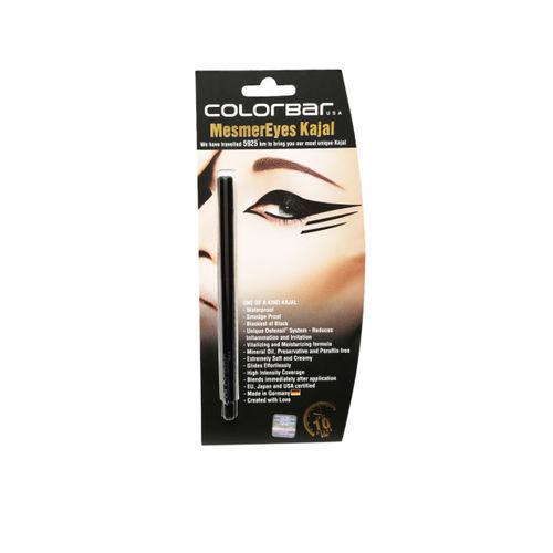 Colorbar All-Matte Black 16Hrs Eyeliner & Black Mesmer Eyes Kajal