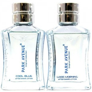Park Avenue COOL BLUE 50ML & GOOD MORNING 50ML AFTER SHAVE LOTION(100 ml)