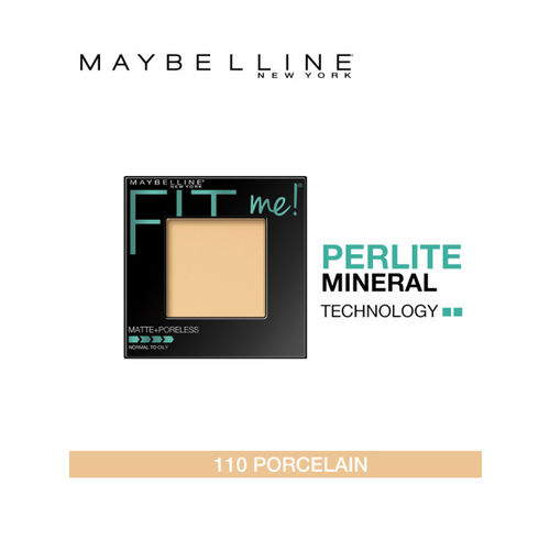 Maybelline New York Fit Me 110 Porcelain Matte Poreless Powder 8.5g