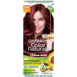 Garnier Color Naturals, Shade 6.6 Hair Color(Intense Red)