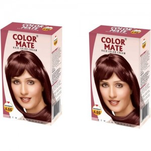Color Mate Cream Hair Color(Mahogany)