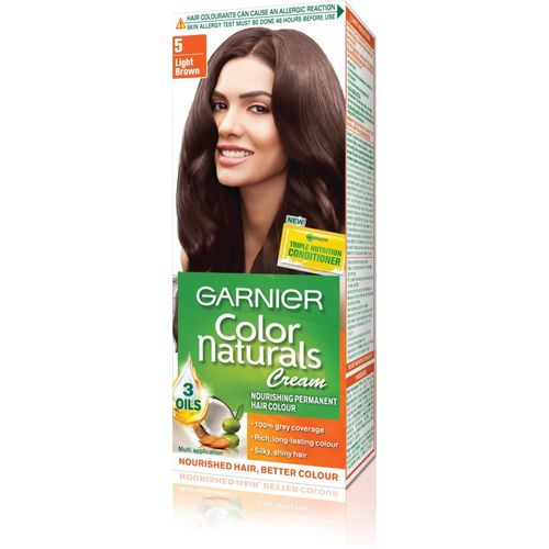 Garnier Color Naturals Cream Hair Color(5 Light Brown)