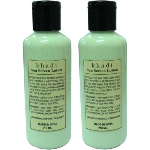 Khadi Herbal Sunscreen Lotion - SPF 50 PA+(420 ml)
