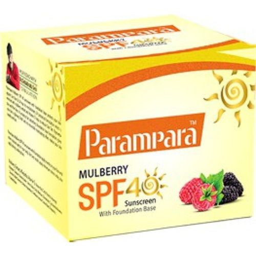 Parampara Mulberry Sunscreen - SPF 40 PA+(20 g)