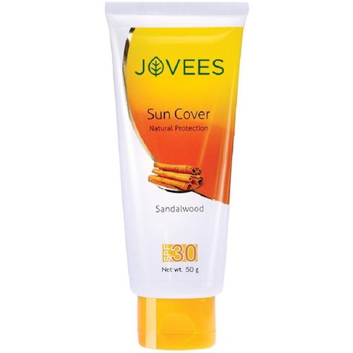 Jovees Sandalwood Natural Sun Cover - SPF 30(50 g)
