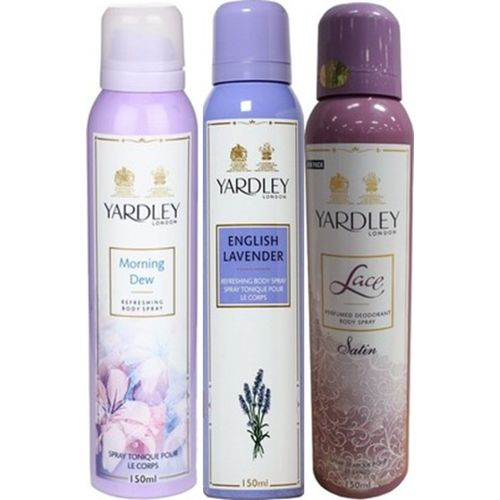 Yardley London Deodorants combo No-85 Combo Set(Set of 3)