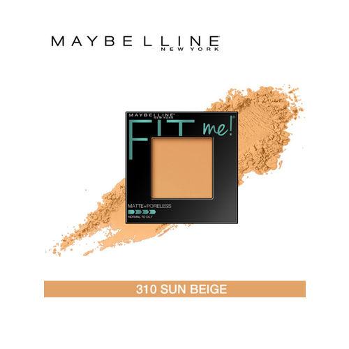 Maybelline New York Fit Me 310 Sun Beige Matte Poreless Powder 9g