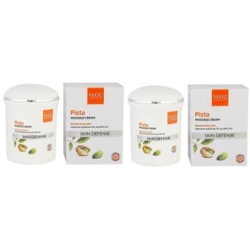 VLCC Natural Sciences Skin Defense Pista Massage Cream (Pack of 1)(100 ml)