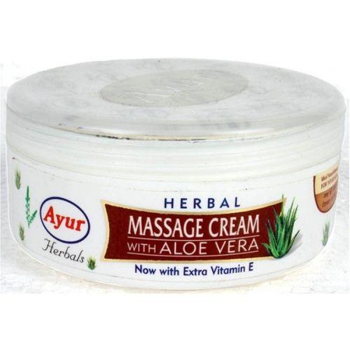 Ayur Herbal Massage Cream With Aloe Vera(200 ml)