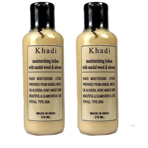 Khadi Herbal Sandalwood Alovera Moisturizer(420 ml)