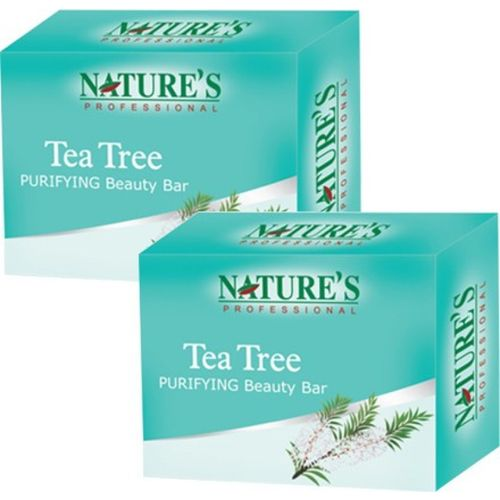 Nature Tea Tree Purifying Beauty Bar Pack of 2(150 g)