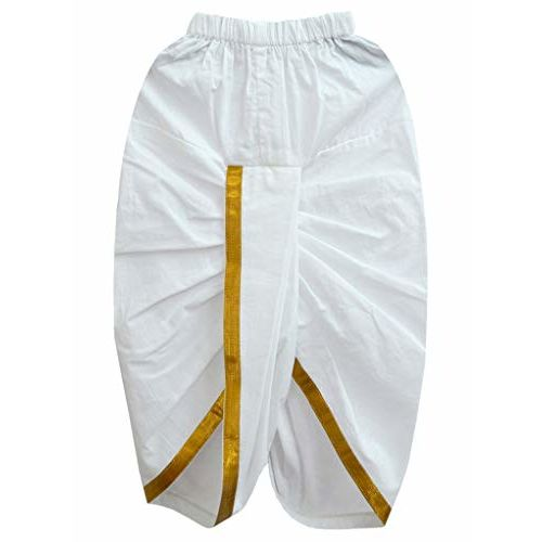 A.T.U.N. All Things Uber Nice Boys' Regular Fit Dhoti (BKLS FBL TUR_Turquoise-White_2-3 Years)