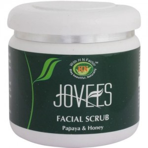 Jovees Facial Scrub Papaya & Honey Scrub(400 g)