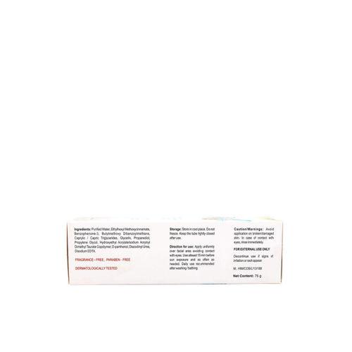 Glenmark Unisex Episoft AC-Moisturiser with Microencapsulated Sunscreen 75g