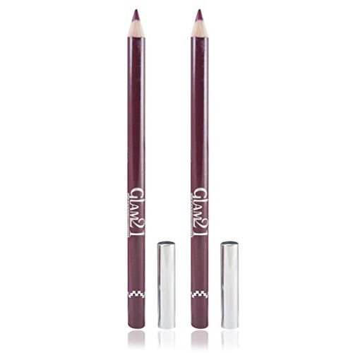 adbeni GLAM 21 RED GLIMMERSTICKS FOR EYES & LIPS PACK OF 2PCS WITH HAIR RUBBER BAND GM-L05-RED