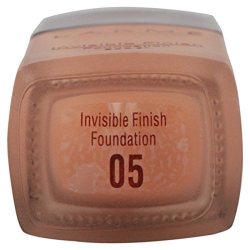 Lakmé Lakme Invisible Finish SPF 8 Foundation, Shade 05, 25ml
