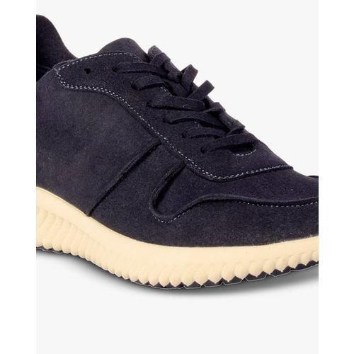 STEVE MADDEN Textured Low-Top Lace-Up Sneakers