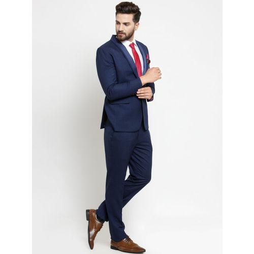 LUXURAZI Blue Tuxedo Suit