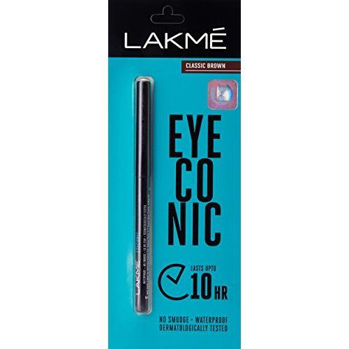 Lakmé Lakme Eyeconic Kajal, Classic Brown, 0.35g
