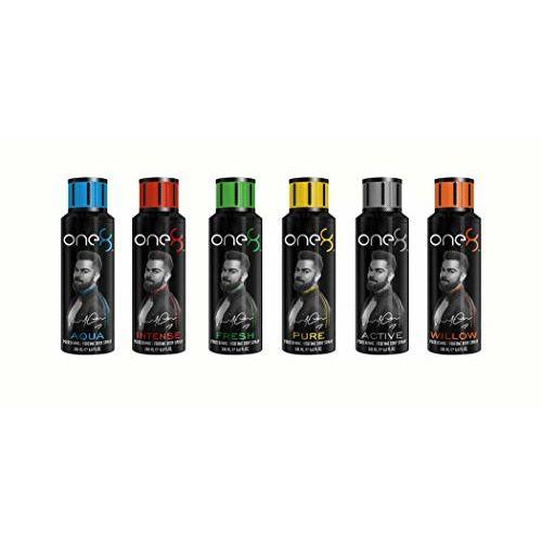 One 8 by Virat Kohli ACTIVE Perfume Body Spray For Men, 200 ml