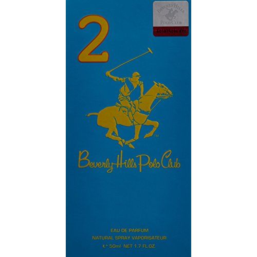 Beverly Hills Polo Club 2 Sport Eau de Parfum for Women, 50ml