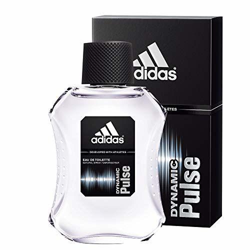 Adidas Ice Dive Eau De Toilette for Men, 100ml with Dynamic Pulse Eau De Toilette for Men, 100ml